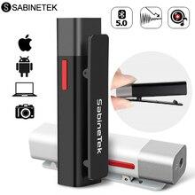 SabineTek SmartMike + Bluetooth אלחוטי Lavalier מיקרופון עבור DSLR מצלמה טלפון מחשב דש מיקרופון Vlogging Youtuber הקלטה