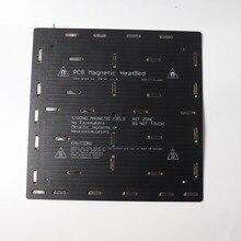 1 個 24v blv mgnキューブ 3dプリンタマグネット加熱されたベッドで 310X310MMケーブル 3 ミリメートル厚さ