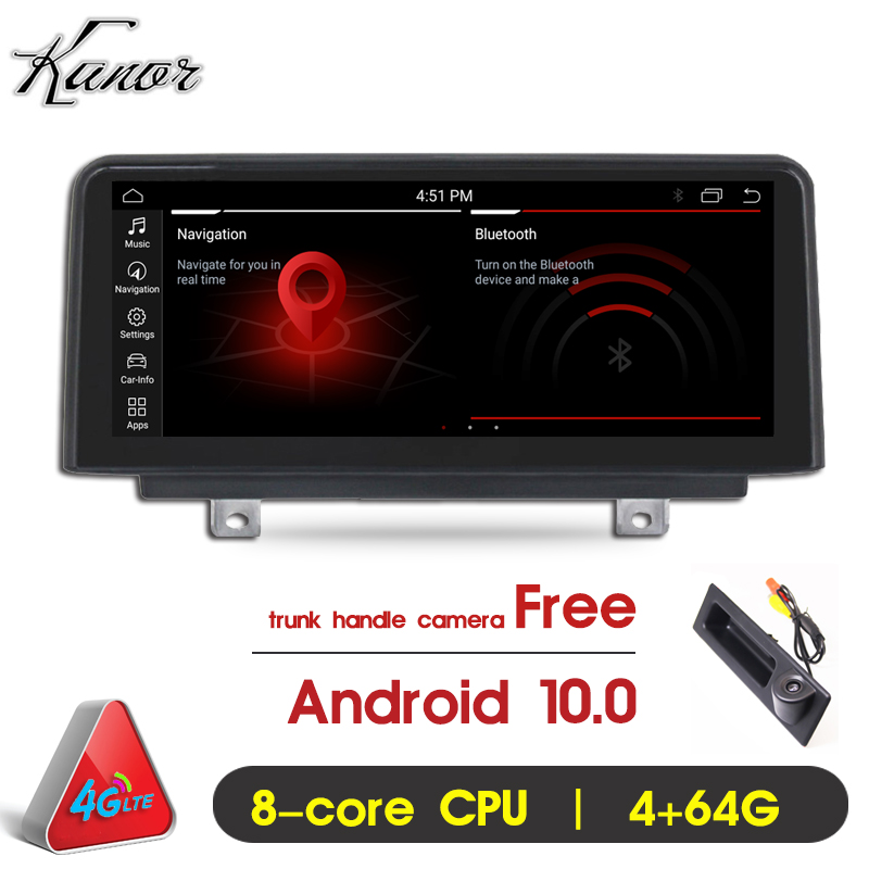 "KANOR 10.25"" IPS 8 Core Android 10 CAR Auto radio player for BMW F30/F31/F34/F32/F33/F36 NBT car Multimedia GPS Navigation(China)"