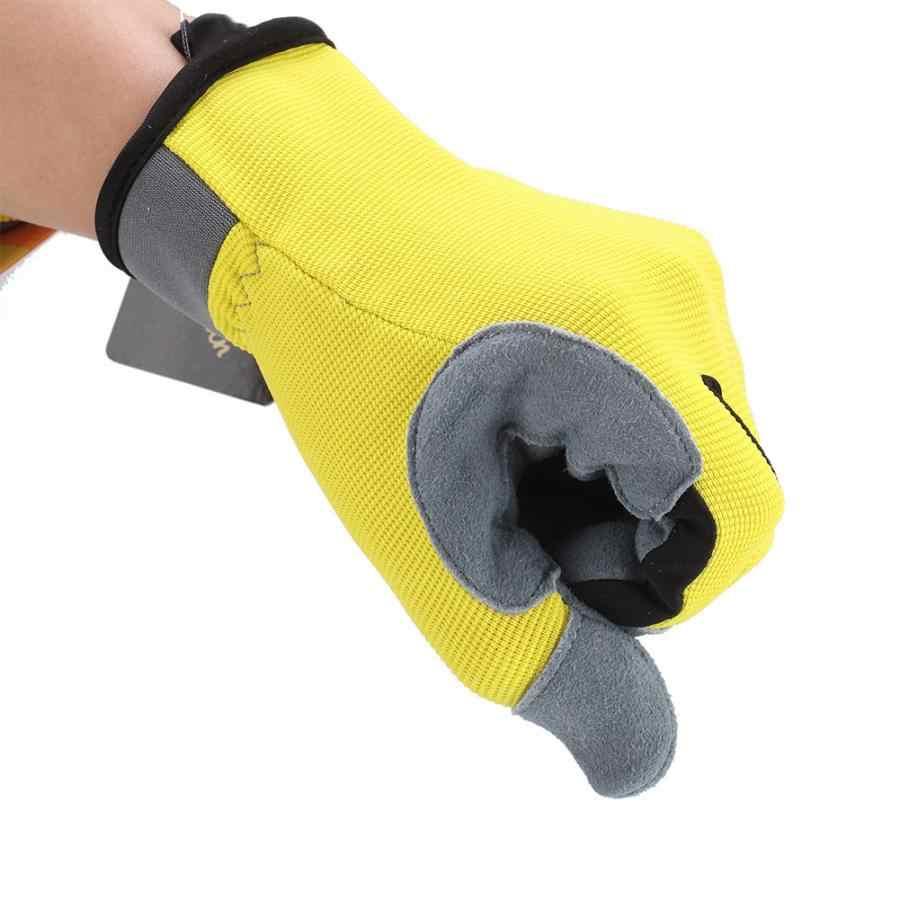 Перчатки для дома щетка для домашнего хозяйства чистящие перчатки 1 пара сенсорный экран кончики пальцев безопасная дышащая защита от порезов сад