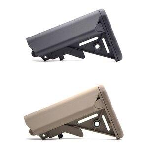Image 1 - Haute qualité MK18 Nylon Stock pour Airsoft AEG pistolet à Air comprimé M4 AK Gel Blaster J8 J9 CS sport Paintball accessoires