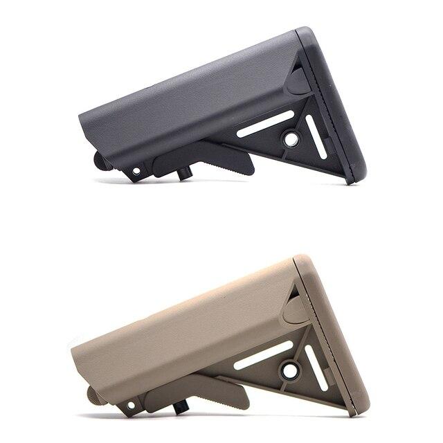 Haute qualité MK18 Nylon Stock pour Airsoft AEG pistolet à Air comprimé M4 AK Gel Blaster J8 J9 CS sport Paintball accessoires