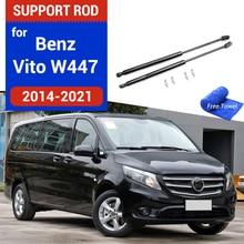 Auto Kap Twee Side Lifting Demper Absorber Strut Bars Staaf Styling Voor Benz Vito Viano V Klasse Marco Polo metris W447 2014 2019