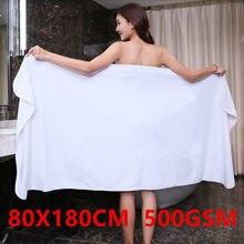 Engrossar toalha de banho super absorção, macio e de secagem rápida, linha de banho extra grande (80x180 cm)-esportes de viagem, toalha multifuncional