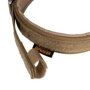Image 4 - Uitstekende Elite Spanker Tactische Halsband K9 Nylon Verstelbare Training Halsband Metalen Gesp Withmetal Gesp Snelsluiting
