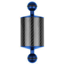 Углеродное волокно поплавок плавучести водный рычаг двойной шар плавающий рычаг Дайвинг камера подводный дайвинг лоток для Gopro/смартфонов