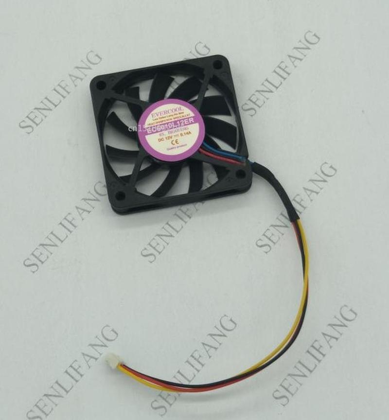 For 6 Cm 6010 12V 0.14A EC6010L12ER 3-wire Cooling Fan