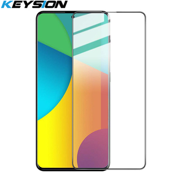 KEYSION Tempered Glass for Samsung Galaxy M51 M31S Screen Protector Phone HD Glass Film for Galaxy S20 FE M31 M21 M11 M01