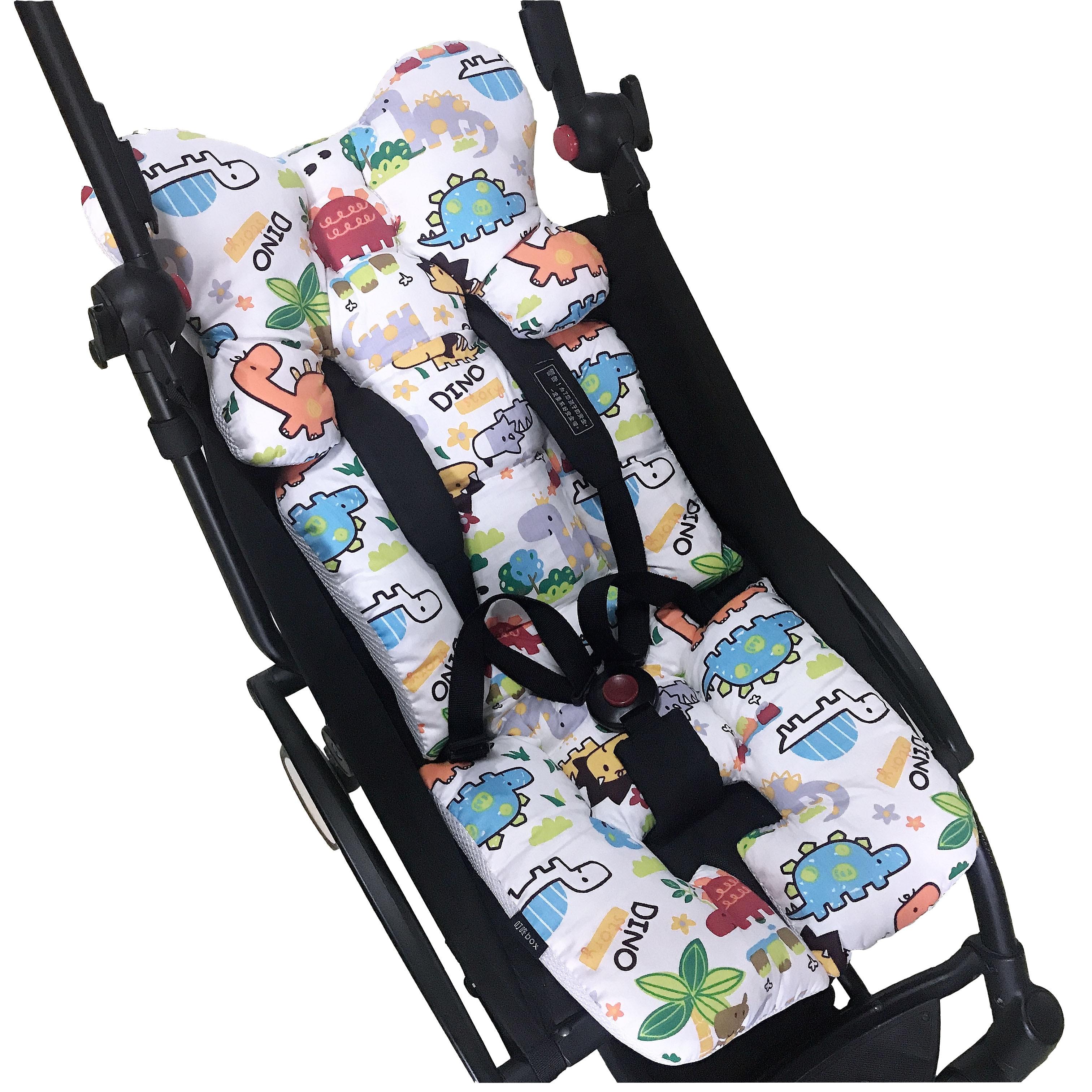 cochecito de beb/é cochecito de beb/é Coj/ín grueso de algod/ón para cochecito de beb/é funda impermeable para cochecito de beb/é Cochecito de beb/é universal para cochecito