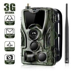 HC801G 3G Berburu Kamera 16MP SMS/MMS/SMTP IP66 Foto Perangkap Trail Kamera 0.3 Memicu S Waktu IP54 Tahan Air Liar Kamera Hunter