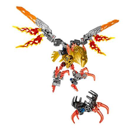 XSZ 609-4 Biochemical Warrior Bionicle Ikir Creature of Fire Bricks Toys Building Blocks Compatible with Bionicle 71303 1