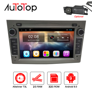 "Image 1 - AUTOTOP 7""2din Android 9.0 Car GPS Navigation for Antara Zafira Corsa Vivaro Meriva Radio Headunit RDS Wifi Mirrorlink BT NO DVD"