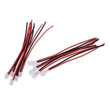 Adaptateur de ligne de câble, pièces de mise à niveau RC, connecteur 55mm pièces/ensemble JST-PH, 10 2.0