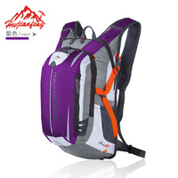 Outdoor Sports Riding Backpack Multi functional with Helmet Ride Luggage Hiking Mountain Climbing 15L Material