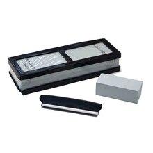 400 1000 Set Corundum Sharpening Stone Whetstone Kitchen Knife Sharpener Household Tool h4