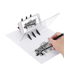 Светодиодный планшет для рисования, цифровой графический планшет, USB светодиодный светильник, коробка, копировальная доска, телефон, электронная художественная графическая живопись, письменный стол