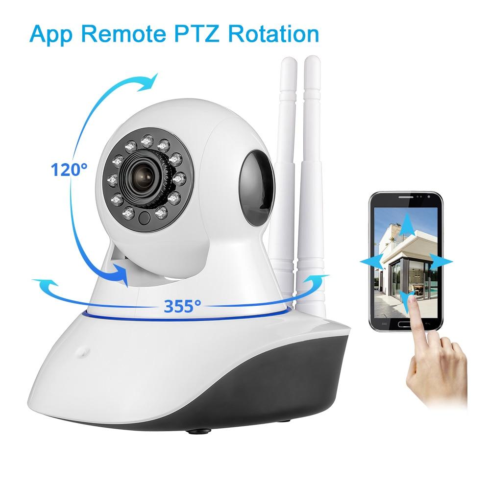 Bezprzewodowa kamera IP WiFi HD KERUI GSM Home Security Alarm Kamera - Bezpieczeństwo i ochrona - Zdjęcie 5