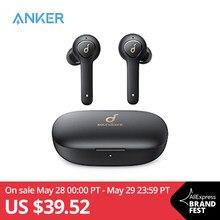 Anker-Bezprzewodowe słuchawki Soundcore Life P2 TWS True, z 4 mikrofonami, bezprzewodowe, redukcja szumów CVC 8.0, wodoodporne IPX7, czas odtwarzania 40 godz.