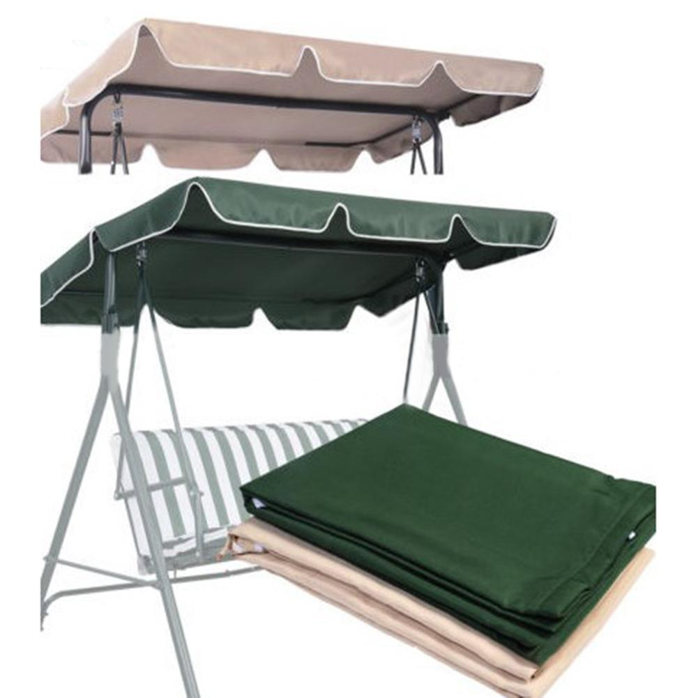210D Top Rain Cover Rain Ruffled Park Rain-Proof Cover Outdoor Patio Swing Chair Dust Covers Waterproof Swing Seat Top Cover