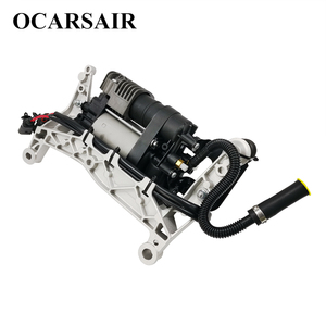 Image 5 - For VW Touareg NF II 2010 with bracket&New Cayenne II 92A Air Suspension Compressor Oem#7P0698007A 7P0698007B 7P0616006E