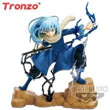 Tronzo original 18cm banpresto exq figura tensei shitara slime datta ken rimuru tempest modelo brinquedos presente para pessoas