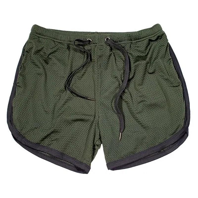 Running Shorts Men Gym Fitness Training GITF Quick Dry Beach Short Pants Male Summer Sports Workout Fitness Bottoms 19