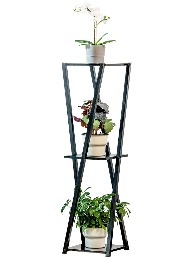 Shelf A Living Room Room Domestic And Foreign Green Luo Chlorophytum Flowerpot Frame Multi storey Simple And Easy Flower Airs|Plant Shelves| |  - title=