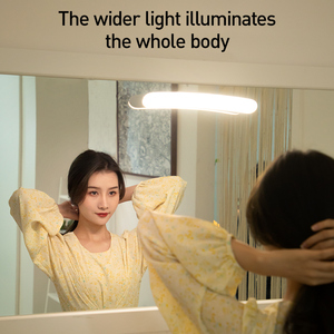 Image 2 - Baseus lumières pour miroir de vanité, lampe pour coiffeuse, pour Table de lecture, modèle LED, mur LED