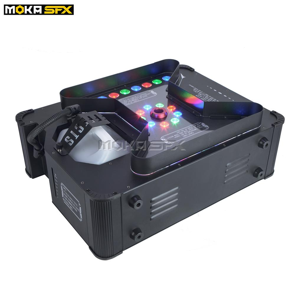 Newest Super Jet Fog Machine DMX Remote Control Stage Effects Pryo Vertical Smoke Machine For Wedding Party Stage Show