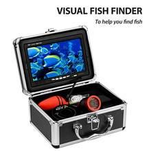 HD 1200TVL Fishing Camera Underwater Fish Finder Night Vision Ice Carp Fishing Camera Fishing Detector Set for Outdoor Fishing