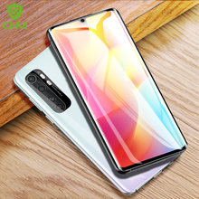 CHYI 3D Curved Film For Xiaomi Mi Note 10 Lite Screen Protector Full Cover nano Hydrogel Film With Tools Not Glass No bubbles