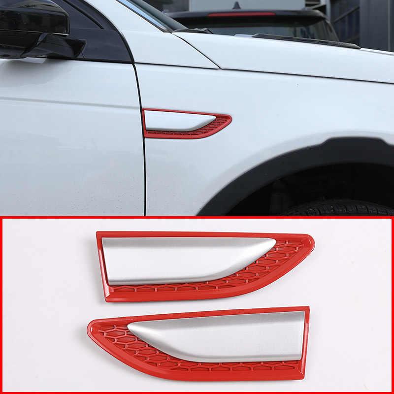 4 piezas para Discovery Sport 2015-2018 Embellecedor de manija de puerta interior de coche ABS cromado piezas de repuesto