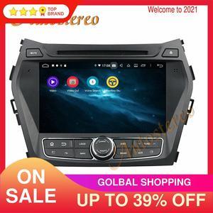 Image 1 - Android 10.0 For Hyundai Santa Fe IX45 2014 2018 Car DVD Player 64GB GPS Navigation Auto Radio Stereo HeadUnit Multimedia Player
