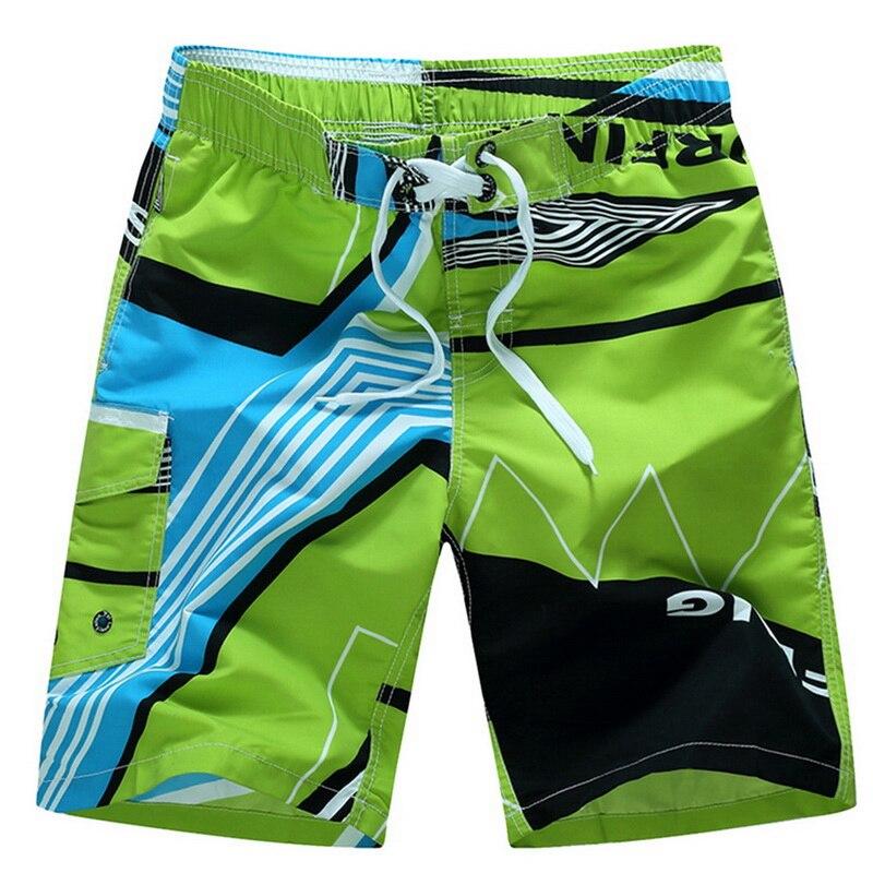 Shorts masculinos para praia, bermudas para praia de secagem rápida, respiráveis, soltas, elásticas, casuais, tamanhos grandes M-6XL