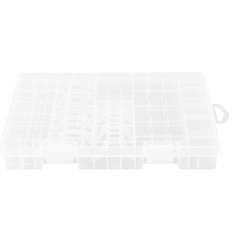 Multi function AAA AA C D 9V Battery Holder Hard Plastic Case Storage Box Racks|Battery Storage Boxes|   - title=