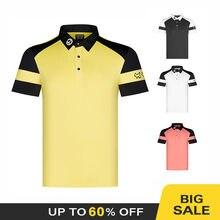 2020 odzież golfowa lato nowy golf męska koszulka wygodne oddychające szybkoschnący golf z krótkim rękawem darmowa wysyłka
