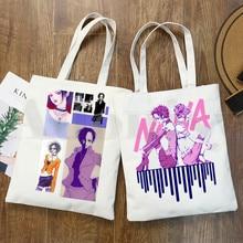 Nana Anime Japanese Harajuku Manga Ren Honjo Handbags Shoulder Bags Casual Shopping Girls Handbag Women Elegant Canvas Bag