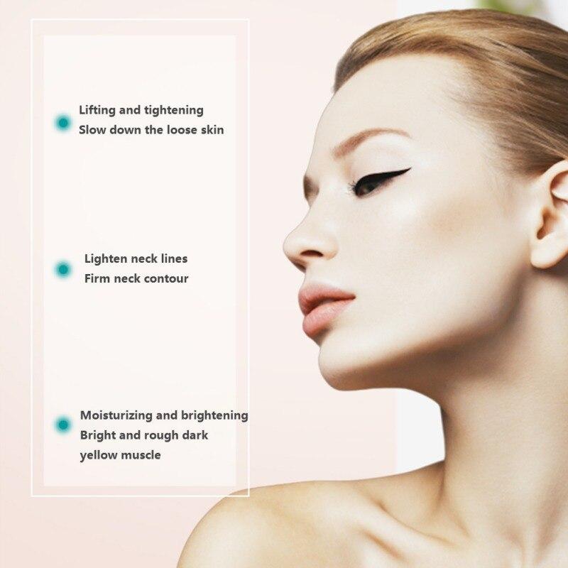 120 г двойной роликовый V-образный крем для шеи увлажняющий Гладкий тонкие линии укрепляющий крем для ухода за кожей Шеи