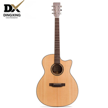 Professional Acoustic guitar All Solid Wood Spruce top 41 40 inch musical Stringed instruments steel strings guitarras Hot china