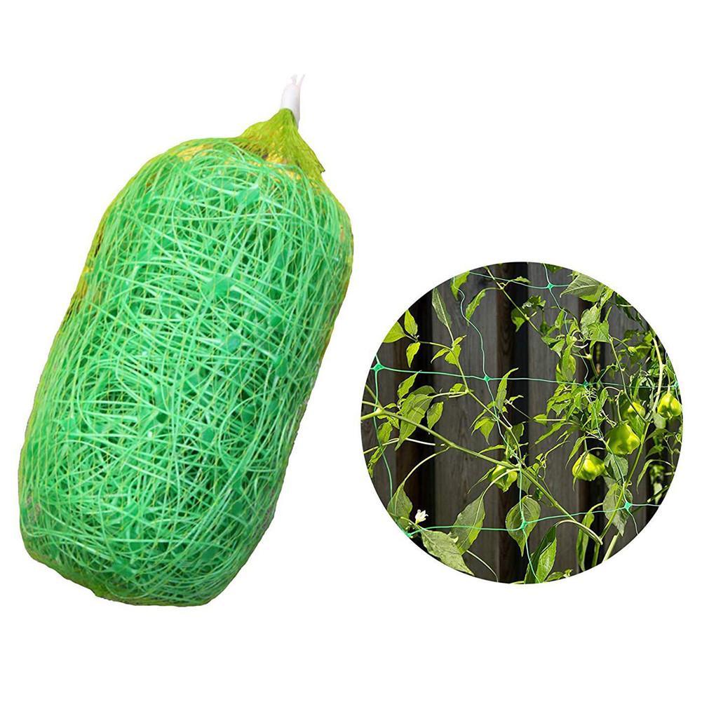 Garden Plants Climbing Net Plastic   PE Net Morning Glory Flower Vine Netting Support Net Grow Net Holder Garden Netting 2X6m