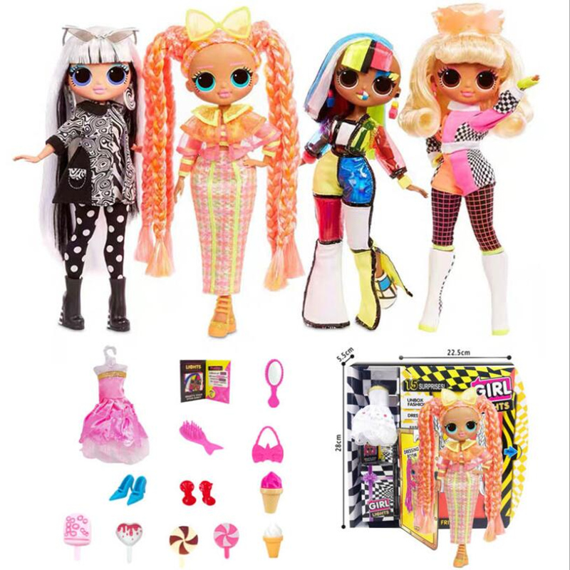 L.O.L Surprise! Fashion Big Eye Lol OMG Surprise Baby Lol Dolls Joints Can Move Action Figure Model Lol Surprise Children Gifts