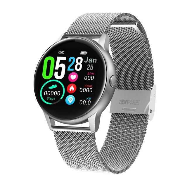 Reloj inteligente DT88 para hombre, pulsera deportiva, IPS, frecuencia cardíaca, presión arterial IP68, resistente al agua, reloj inteligente para Android IOS pk q8