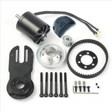 83mm 90mm 97mm Elektrische Skateboard 1800W Motor 5M Getriebe 270mm Gürtel Kit Und Motor mount Teile Riserpad