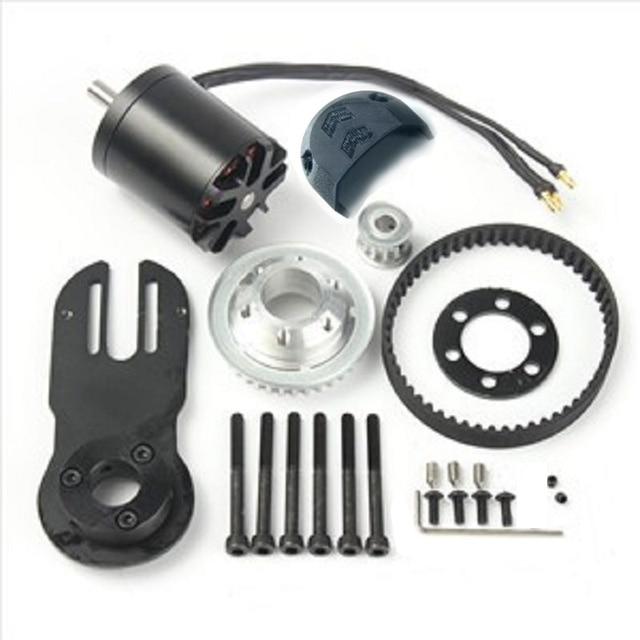 83mm 90mm 97mm skate elétrico 1800w motor 5m engrenagem 270mm cinto kit e motor riserpad das peças do montagem
