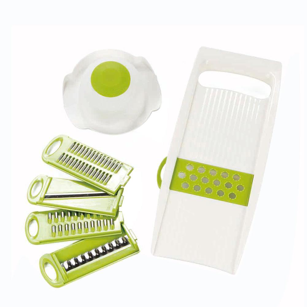 7Pcs/Set Kitchen Vegetable Slicer Multifunctional Potato Cutter Shred Grater Tools & Gadgets