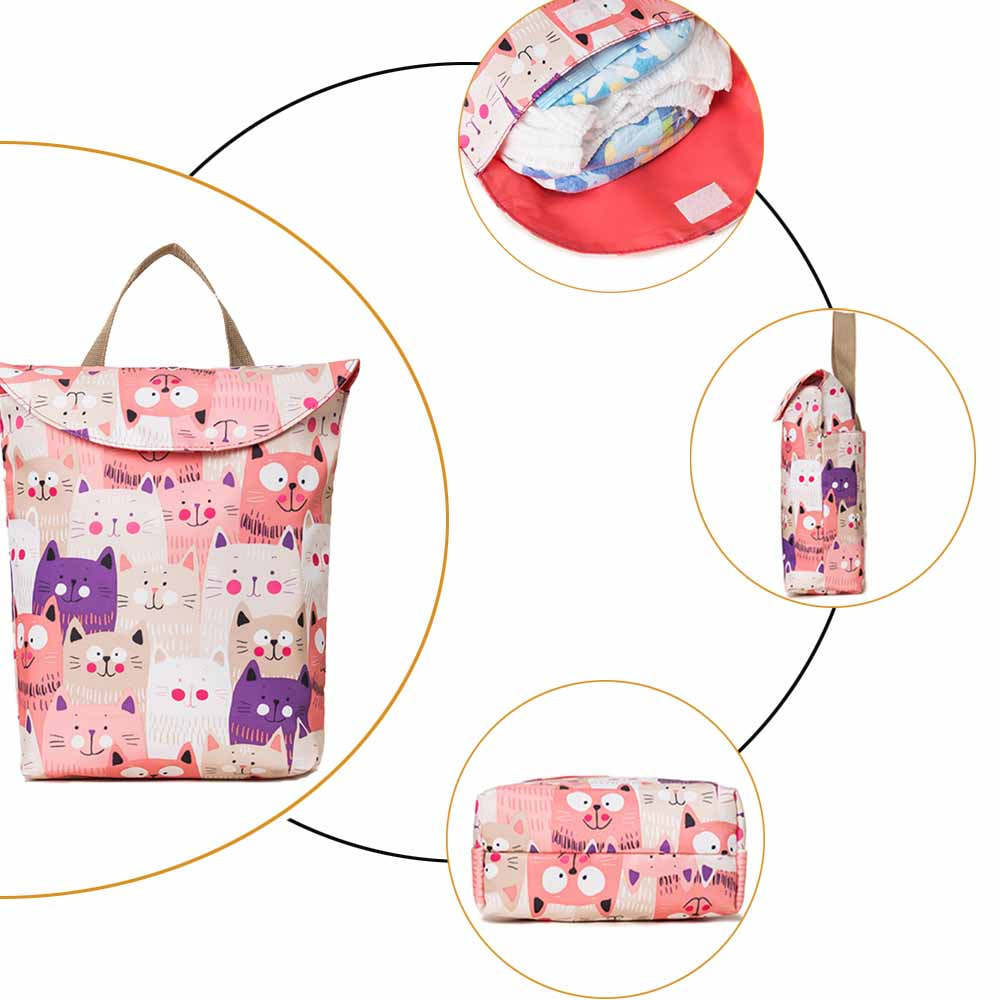 Multifunctional Mummy Maternity Nappy Bag Mommy Backpack Zipper Large Capacity Travel Maternity Bag Baby Diaper Bags Nursing Bag