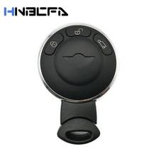 3 кнопка смарт пульт ключ чехол брелок корпус для BMW Mini Cooper R56 замена без ключа вход брелок автомобиль пульт ключ крышка