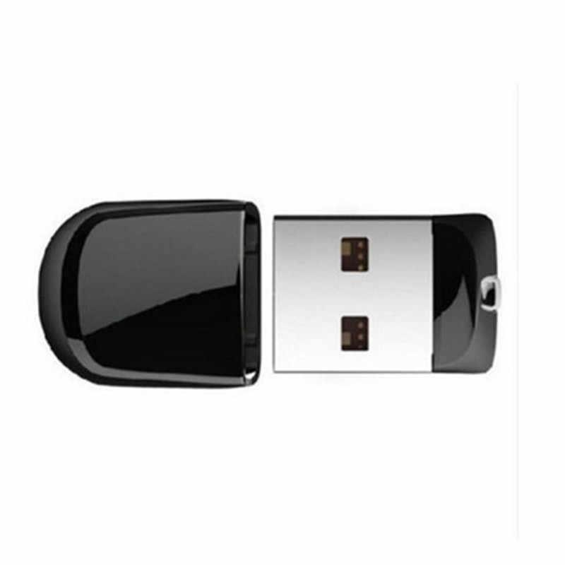 Super mini clé USB noire 8 GB 16 GB clé Usb 32 GB 64 GB 128 GB clé USB clé Usb petit disque U meilleur cadeau
