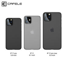 Купить с кэшбэком CAFELE PP case for iphone 11 pro max x cover ultra thin matte cases for Apple iphone 11 pro fashion fitted back shell
