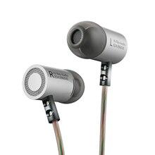 KZ ED4 auricular estéreo de Metal, dispositivo de audio intrauditivo con aislamiento de ruido y micrófono para teléfono móvil, MP3 y MP4